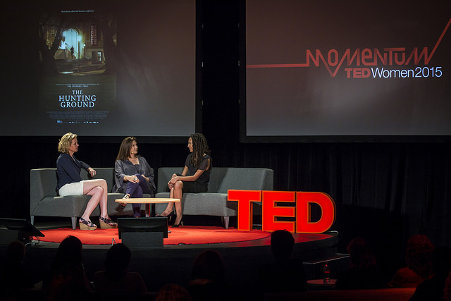Bad feminists reaching momentum @TEDWomen2015