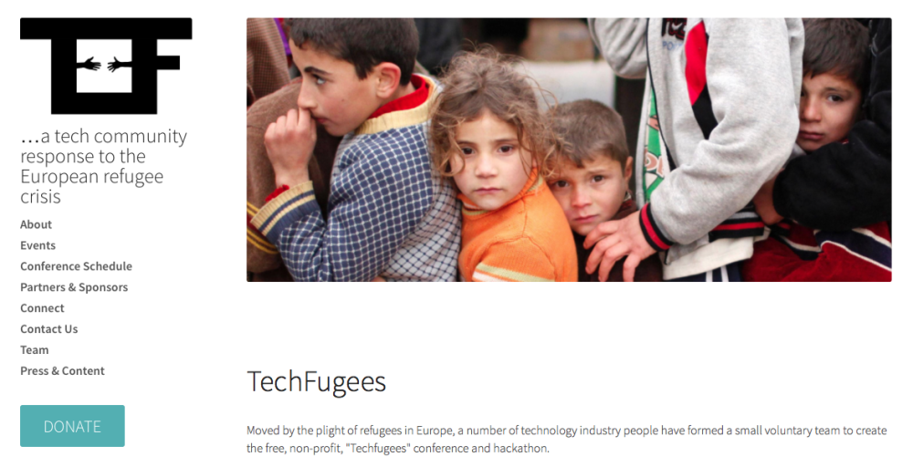 When technology challenges the narrative of the European refugee crisis